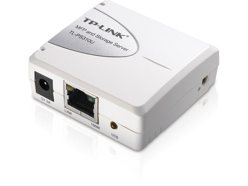 TL-PS310U: Single USB2.0 Port MFP and Storage Server