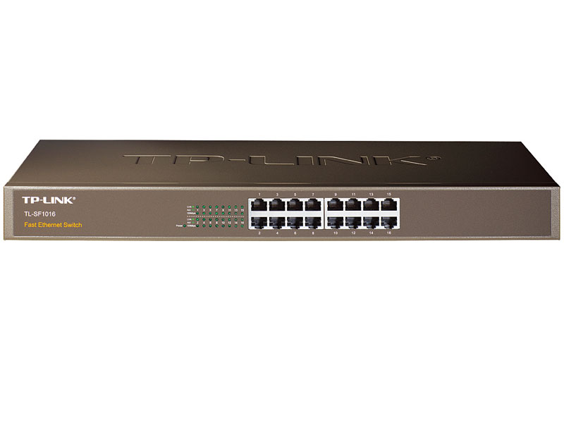 TL-SF1016: 16-Port 10/100Mbps Rackmount Switch