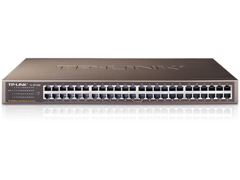 TL-SF1048: 48-Port 10/100Mbps Rackmount Switch