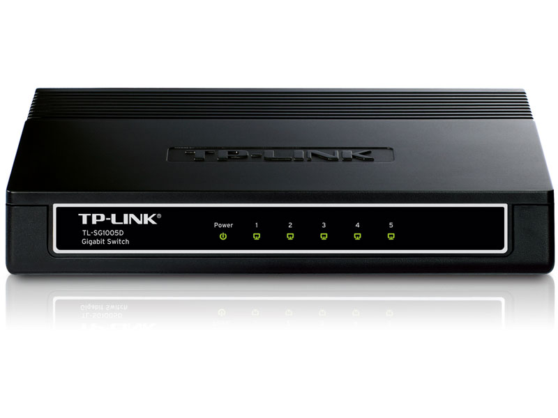TL-SG1005D: 5-Port Gigabit Desktop Switch