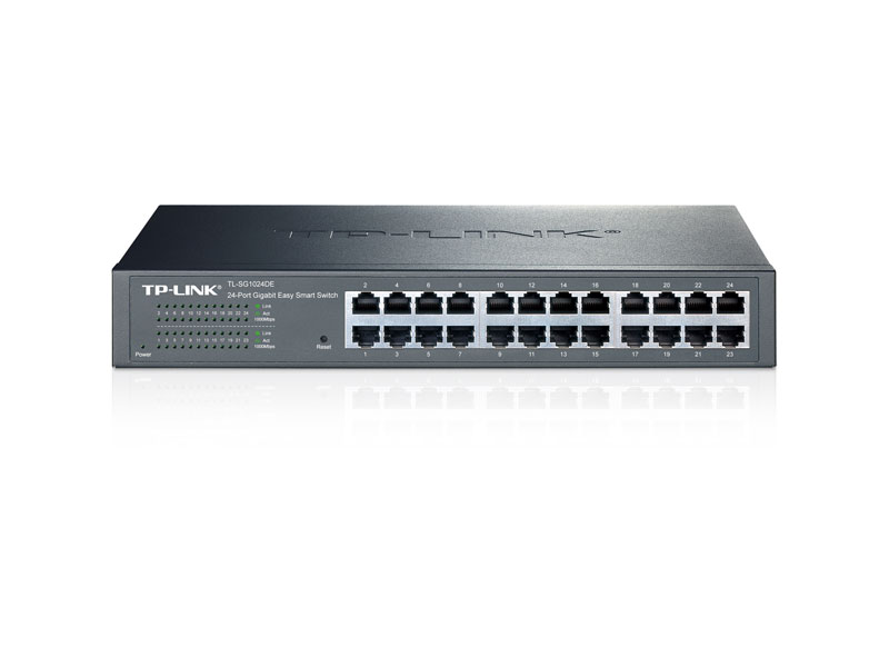 TL-SG1024DE: 24-Port Gigabit Easy Smart Switch