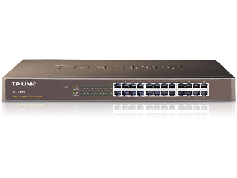 TL-SG1024: 24-Port Gigabit Switch