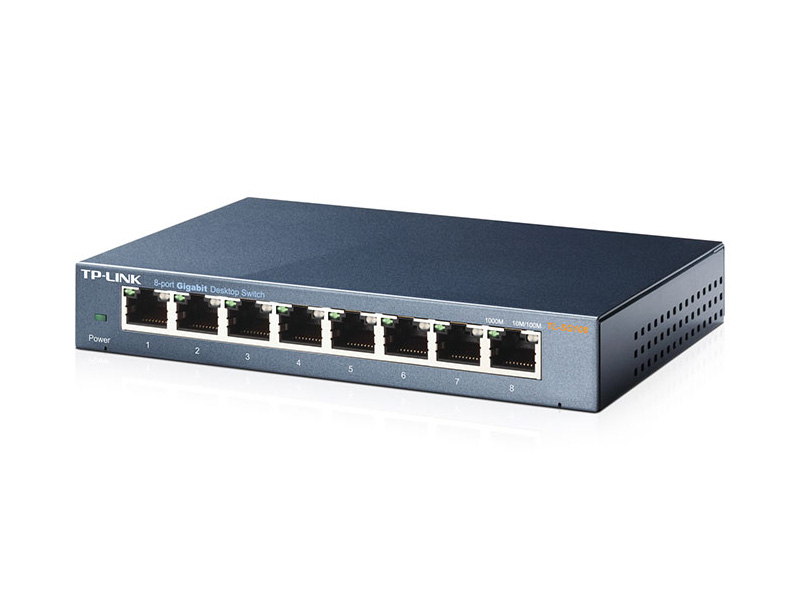 TL-SG108: 8-Port 10/100/1000Mbps Desktop Switch