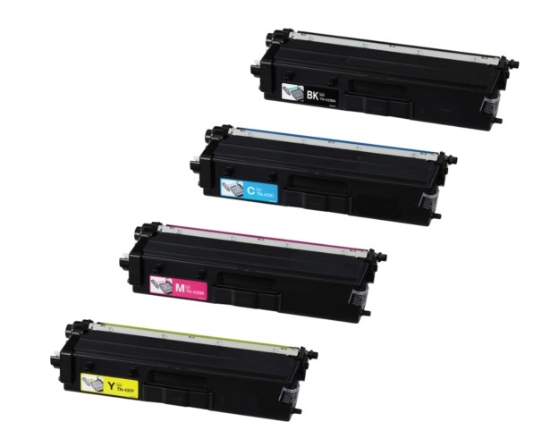 Brother TN433BK/TN433C/TN433Y/TN433M: Brother Compatible Toner Cartridge/Black/Cyan/Yellow/Magenta
