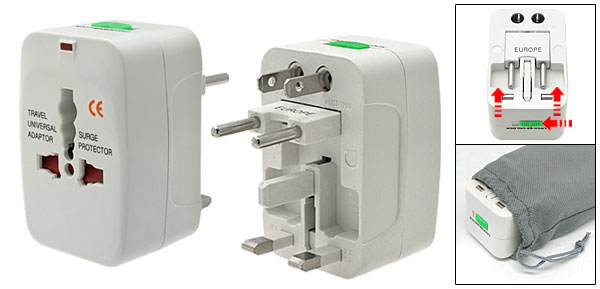 UPA-P: Universal Travel Power Adapter with Surge Protection
