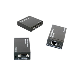VSP0102-SR: VGA UTP Extender 1X2 Splitter with Audio w/receivers
