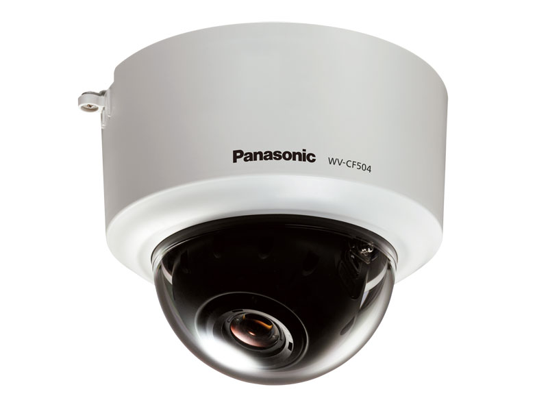 Panasonic WV-CF504P: WV-CF504 SD5 High resolution fixed dome camera, 650 horizontal lines