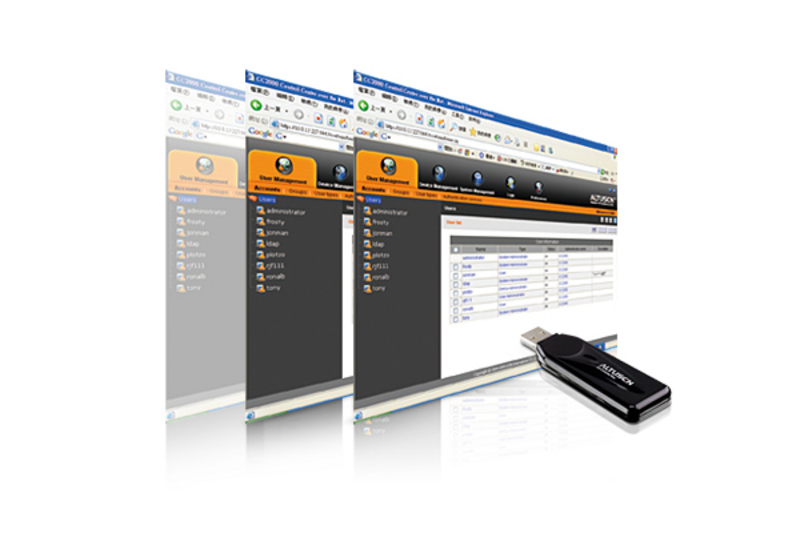 ATEN CC2000: Control Center Over the NET™ Management Software