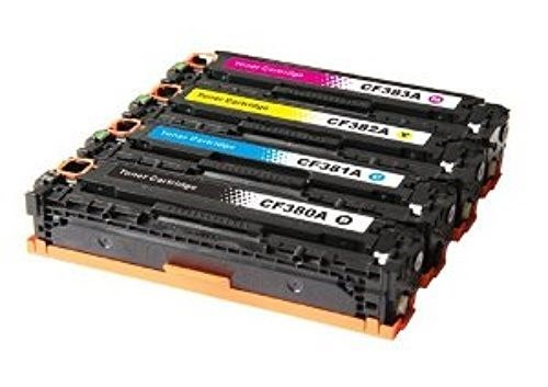 HP CF380A/CF381A/CF382A/CF383A: New Compatible TONER CARTRIDGE BLACK/CYAN/YELLOW/MAGENTA