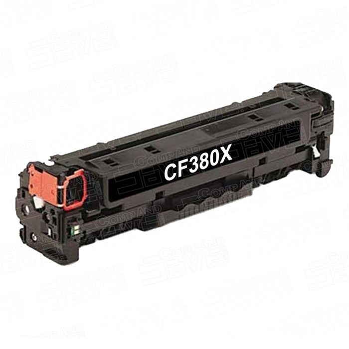 HP CF380X: New Compatible Black Toner Cartridge