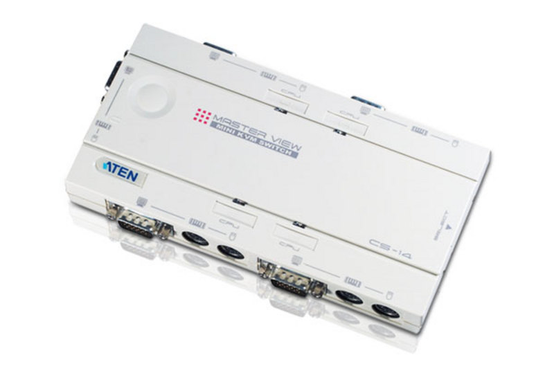 ATEN CS14C: 4-Port PS/2 KVM Switch