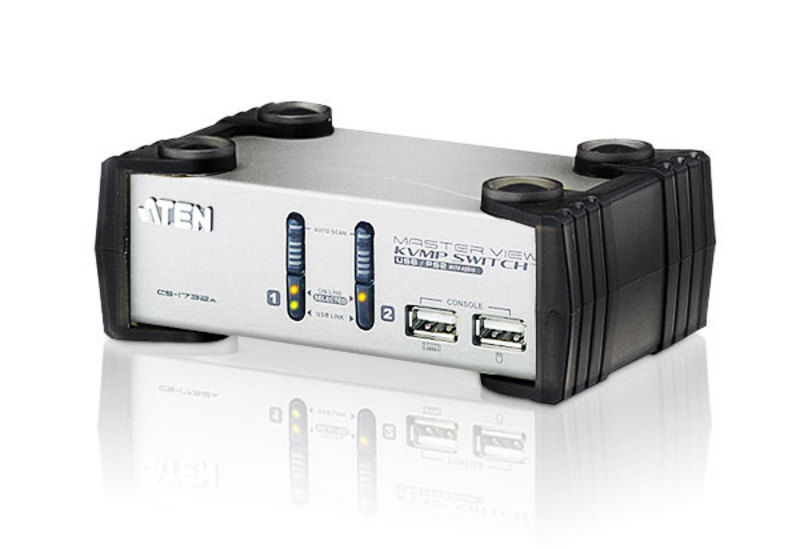 ATEN CS1732A: 2-Port USB KVMP Switch