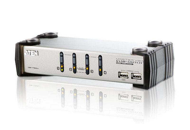 ATEN CS1734A: 4-Port USB KVM Switch