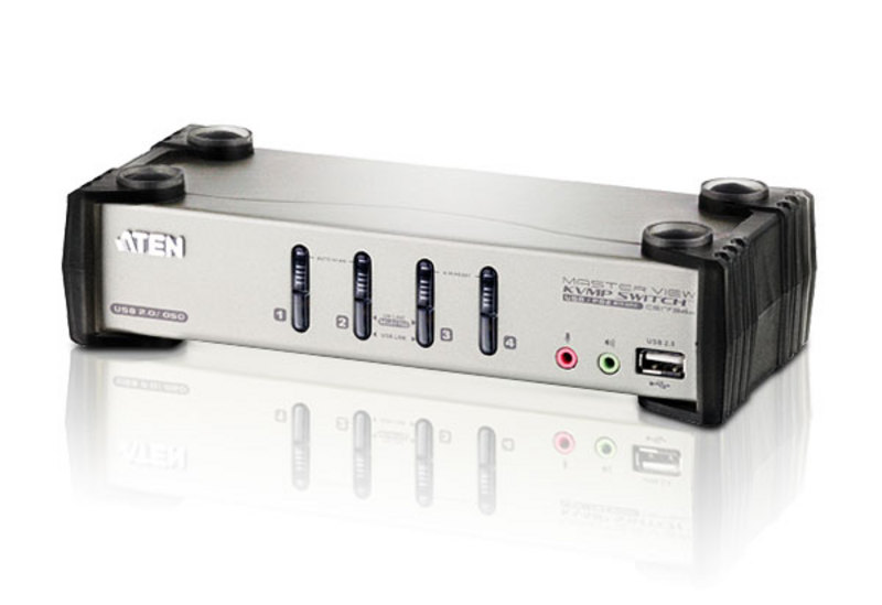 ATEN CS1734B: 4-Port USB 2.0 KVMP Switch with OSD
