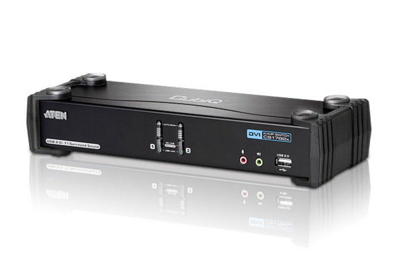ATEN CS1782A: 2-Port USB DVI Dual Link KVMP™ Switch