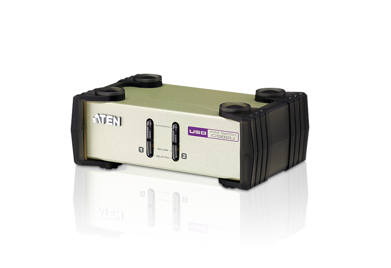 ATEN CS82U: 2-Port PS/2-USB KVM Switch
