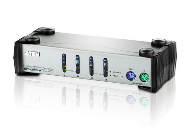 ATEN CS84A: 4-Port PS/2 KVM Switch