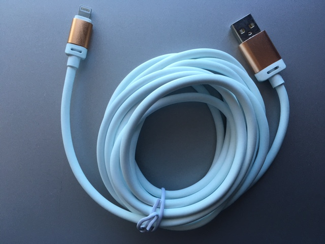 LUC-3: iPhone 5 Lightning to USB DATA/Charging Cable, 3 meter