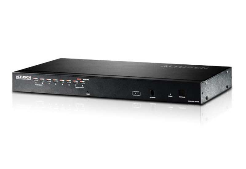 ATEN KH1508A: 8-port Cat 5 High-Density KVM Switch