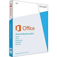 MS-Office-2013-HB-PkC: MICROSOFT OFFICE HOME AND BUSINESS 2013 PKC
