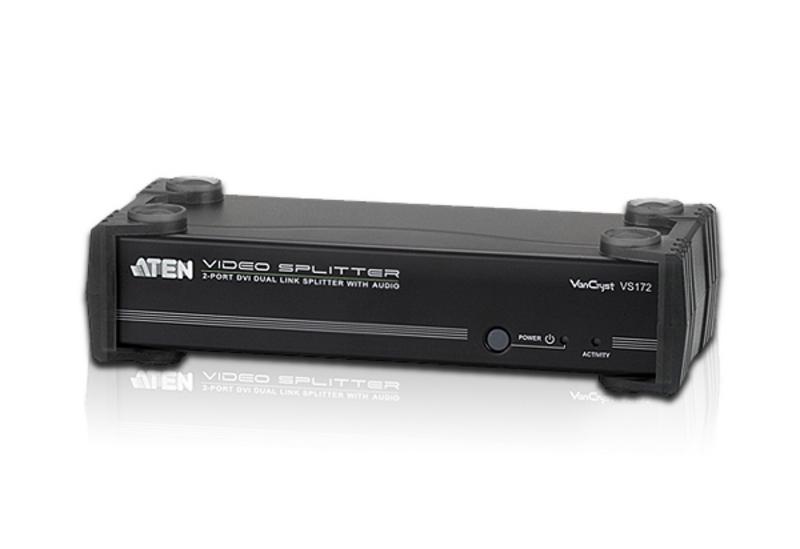 ATEN VS172: 2-Port DVI Dual Link Splitter with Audio